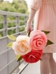 Natūraliai atrodančios rožės