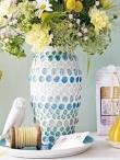 Kaip dekoruoti vazą