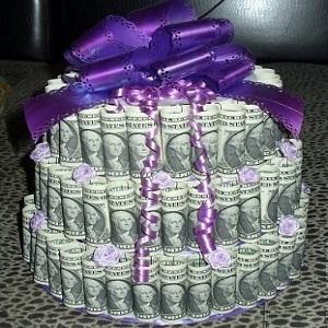 Brangus tortas, arba originalus būdas įteikti piniginę dovaną