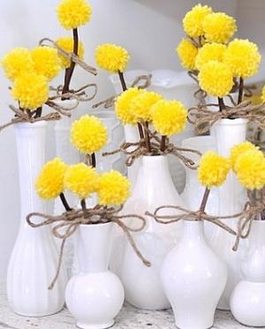 Originali gėlių puokštė savomis rankomis